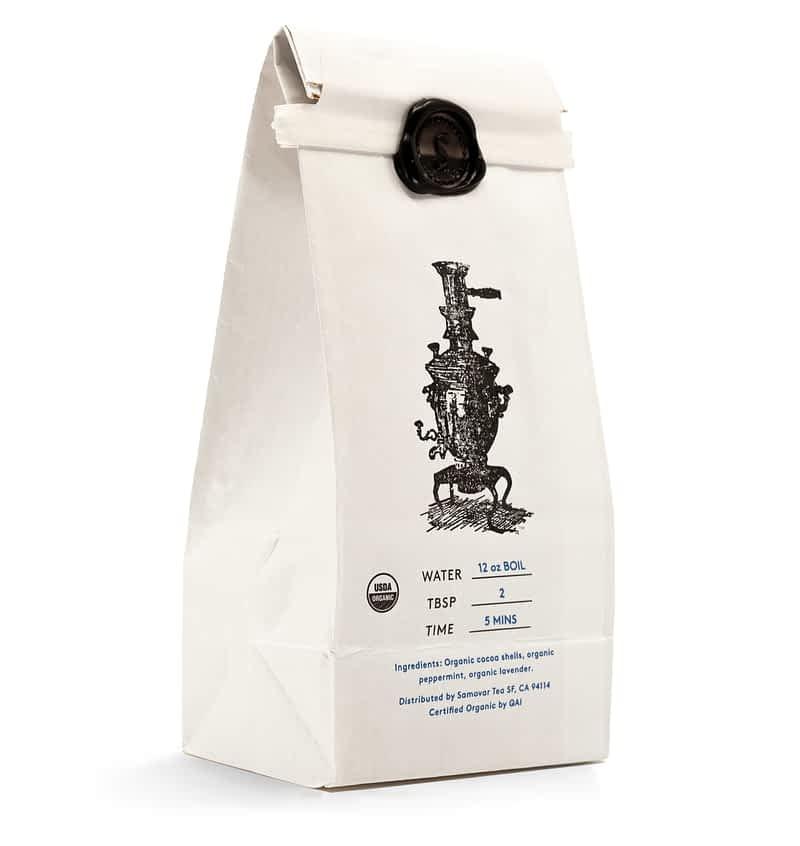 Cacao Mint - White Bag - Back - 0602CAMIBG