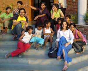 Teresa and the Gang In India