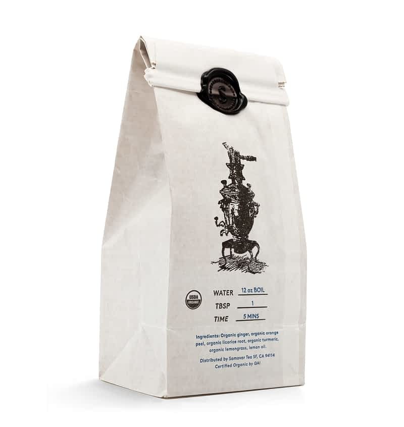 Turmeric Spice - White Bag - Back - 0602TUSPBG