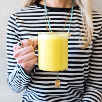 Turmeric Latte at San Francisco Tea Houses & Tea Lounges