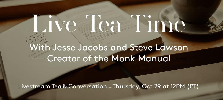 Live Tea Time with Steve Lawson