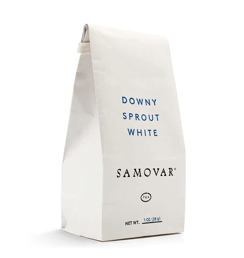 Downy Sprout - White Bag - Front - 0101DOSPBG