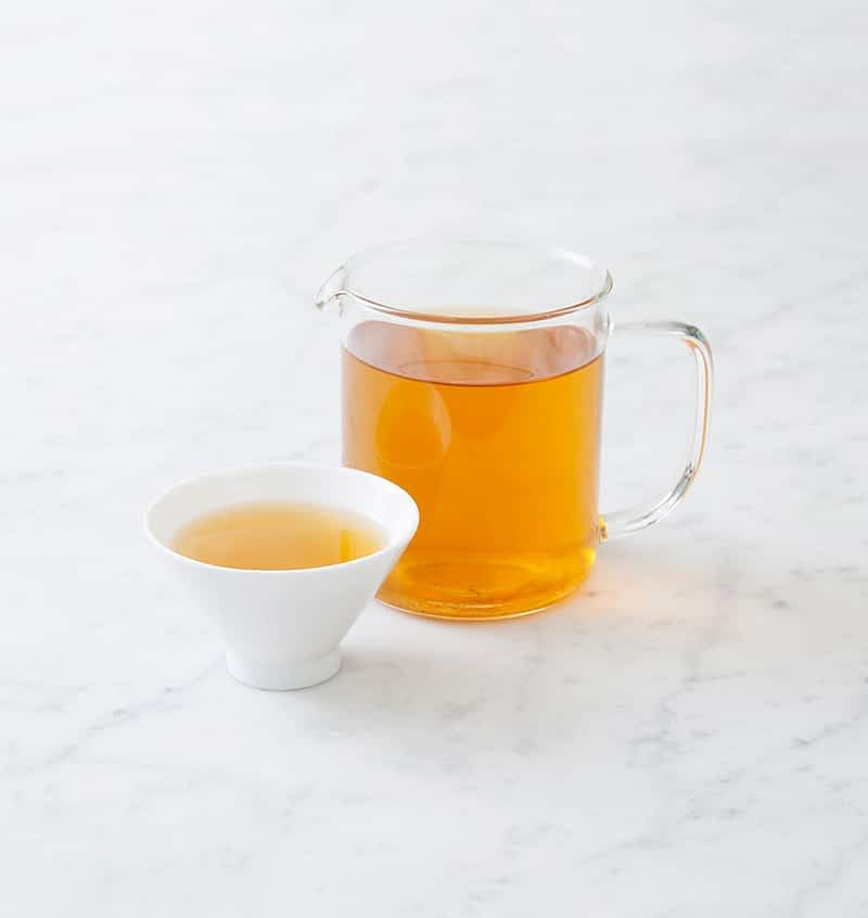 Organic Gunpowder Green Tea Infusion